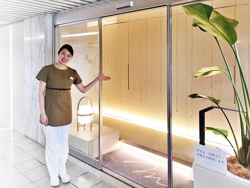 京都市左京区聖護院 美里歯科 入口