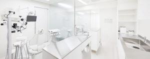 半個室の診療室