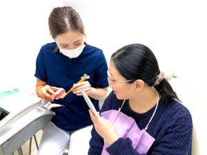 美里歯科の1年メンテナンス・コンサルテーション