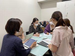 京都市左京区聖護院 美里歯科 院内ミーティングを行いました